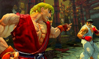 ssfiv dynamic 3d Super Street Fighter IV 3DS