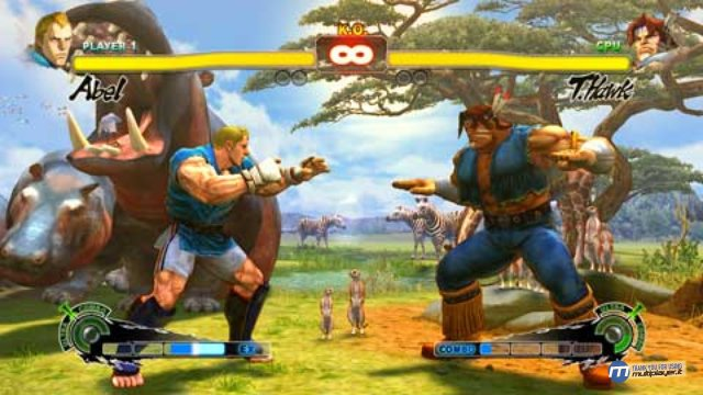 ssfiv graphic Super Street Fighter IV 3DS