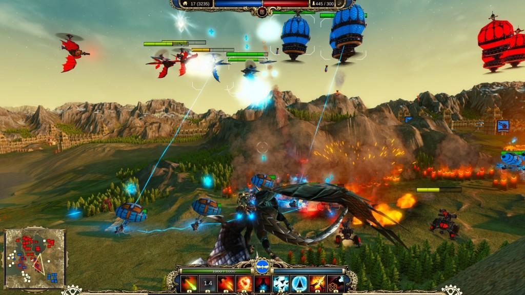 combat 1024x576 Review: Divinity: Dragon Commander
