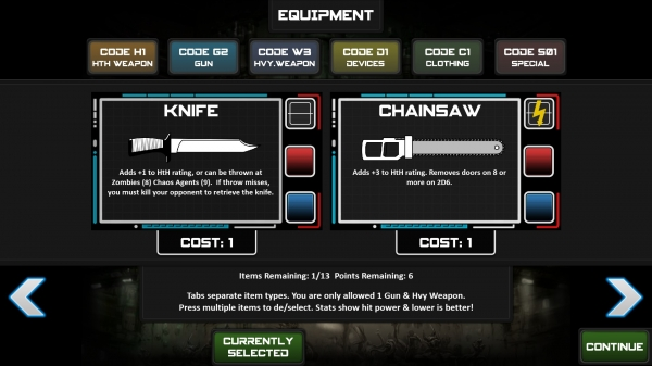 Knife or Chainsaw, Knife or Chainsaw, ppfffttt like their is even a choice!