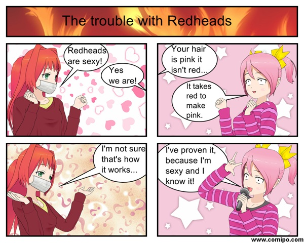 Trouble with Redheads