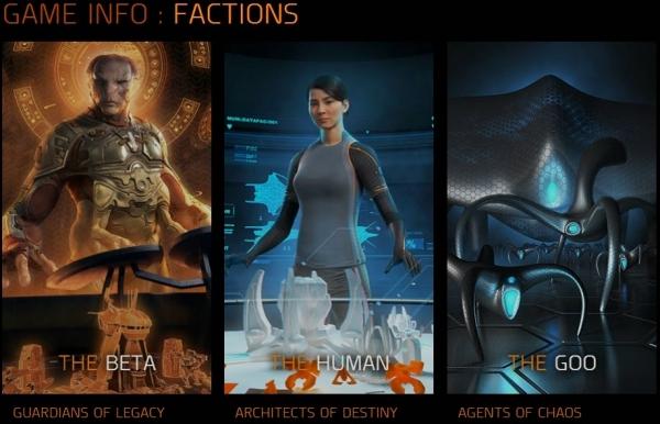 Grey Goo Factions