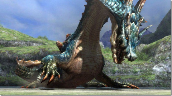 MH3U Dragon