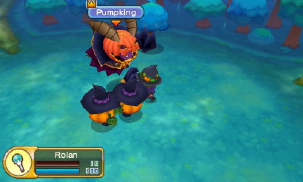3DS Fantasy Life Pumpkin King