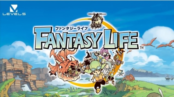 3DS Fantasy Life Title