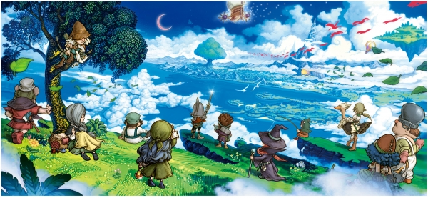 3DS Fantasy Life Wallpaper