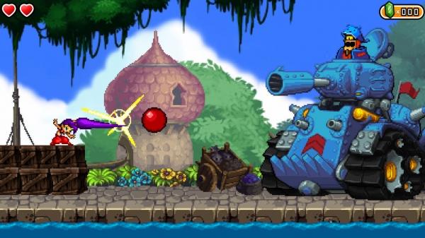 Shantae vs Tank