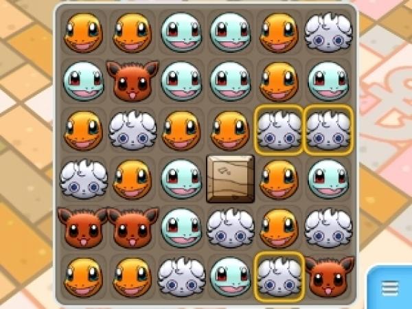 Pokemon Shuffle Match Board