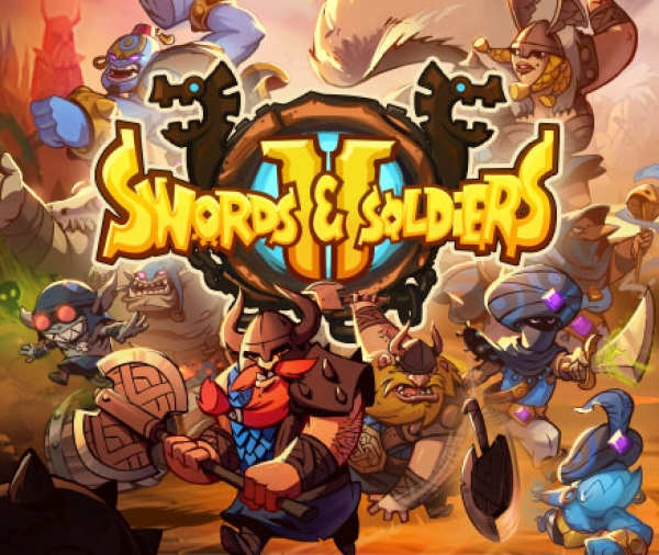 Swords & Soldiers II Title