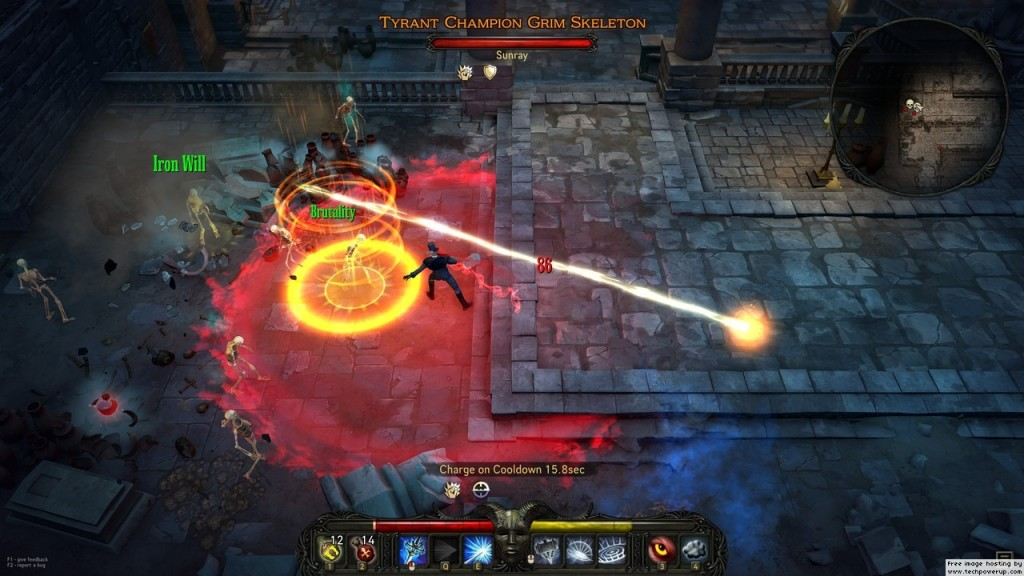 The combat in Victor Vran is both intense and extremely satisfying.