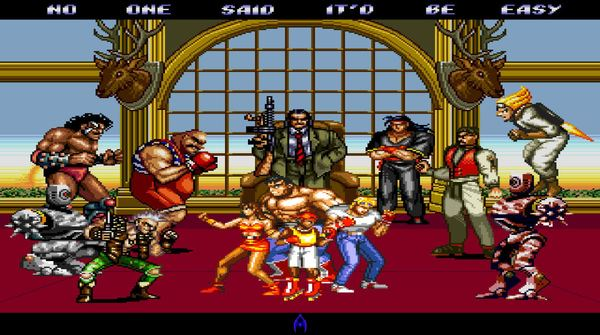 Streets of Rage 2 encounters